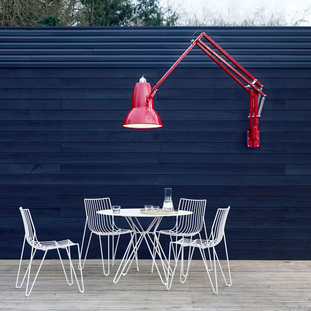 Anglepoise Wall Mounted Red