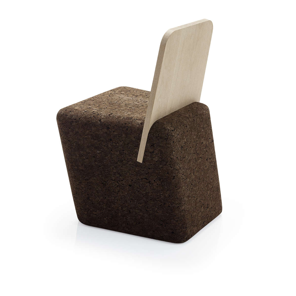 Black Cork Cut Chair