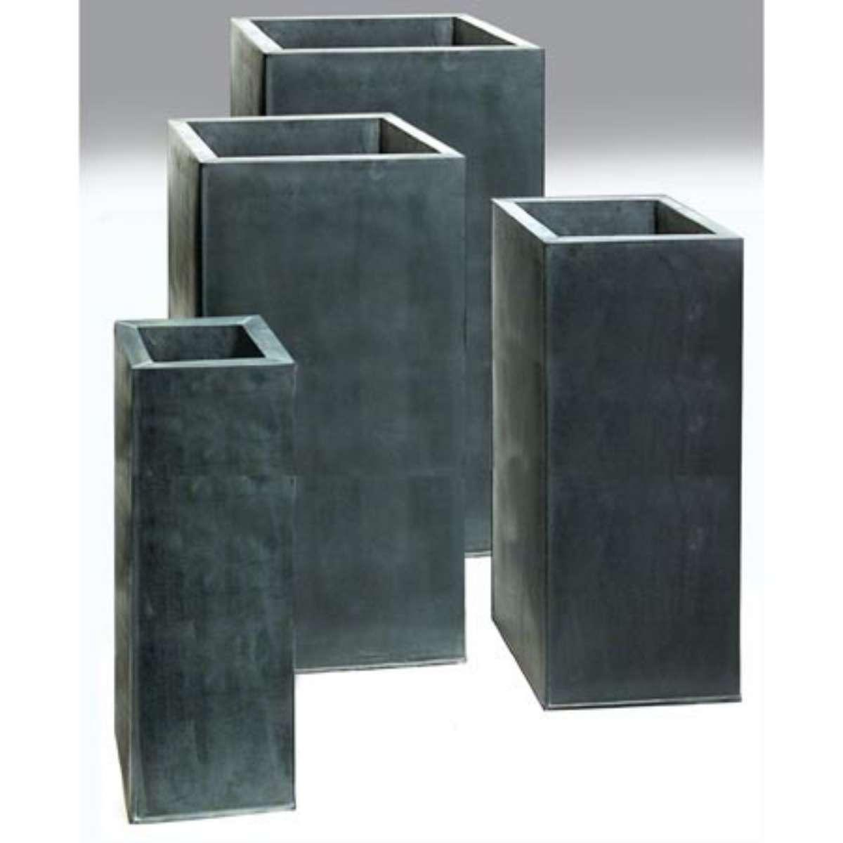 Zinc Column Pot