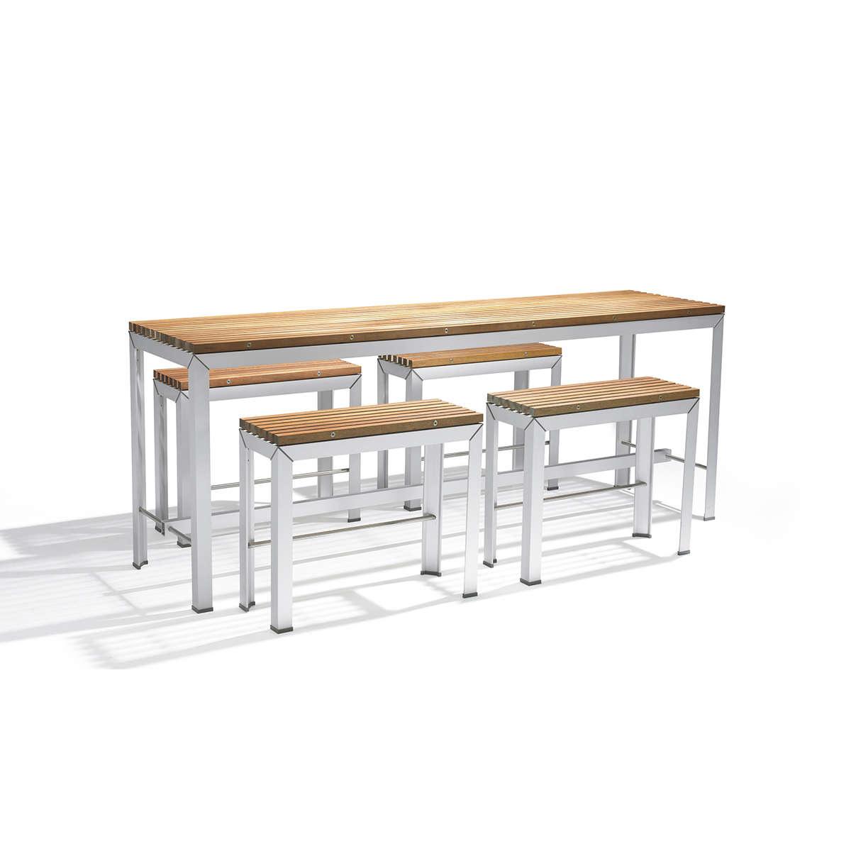 Extempore High Table + Bench