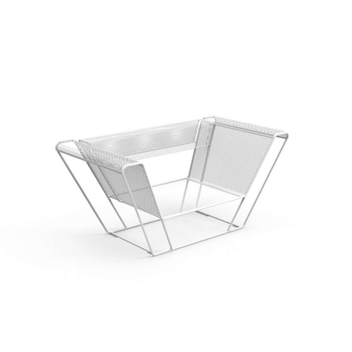 Float Rashid Frame White