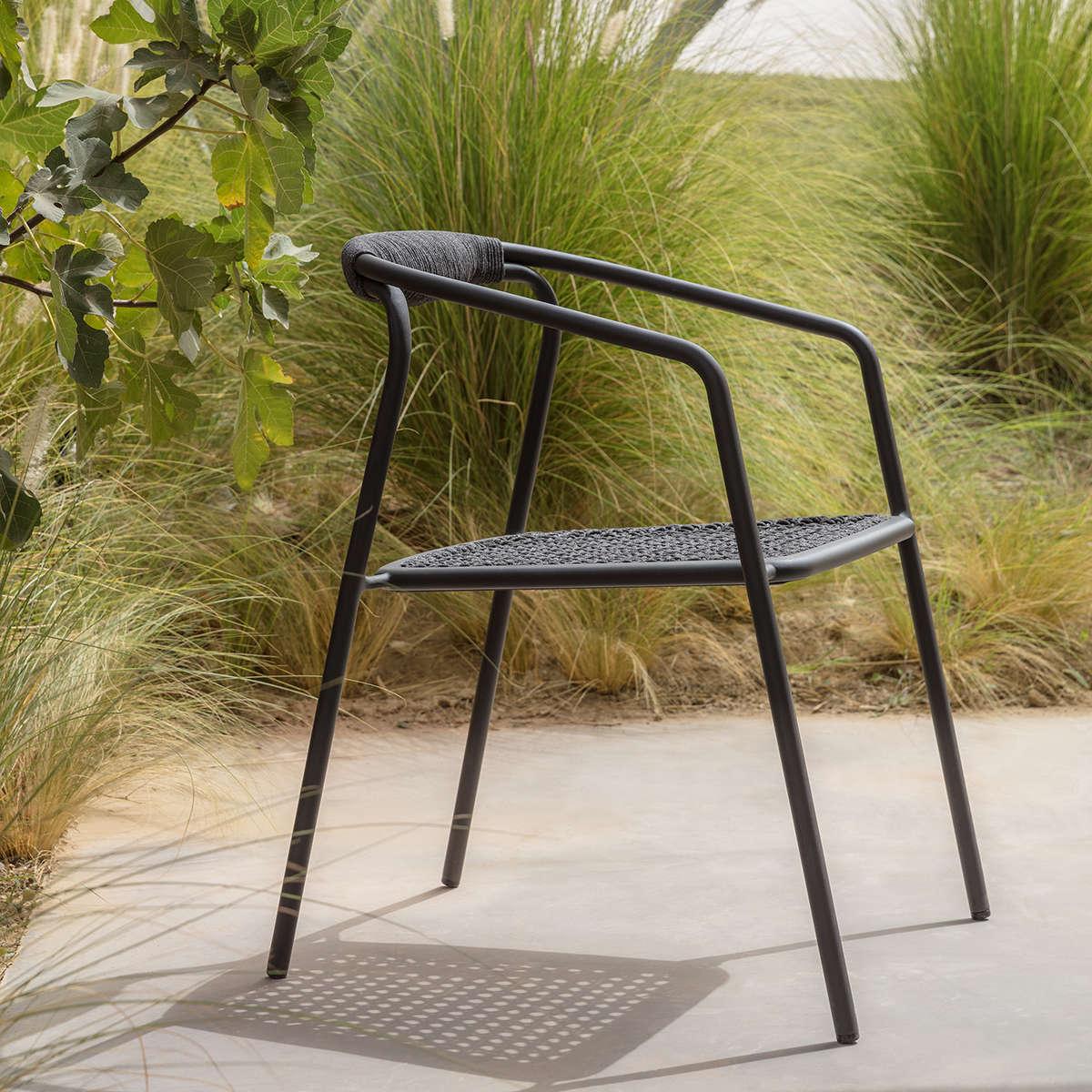 Manutti Duo Stacking Chair Ambi Black 1