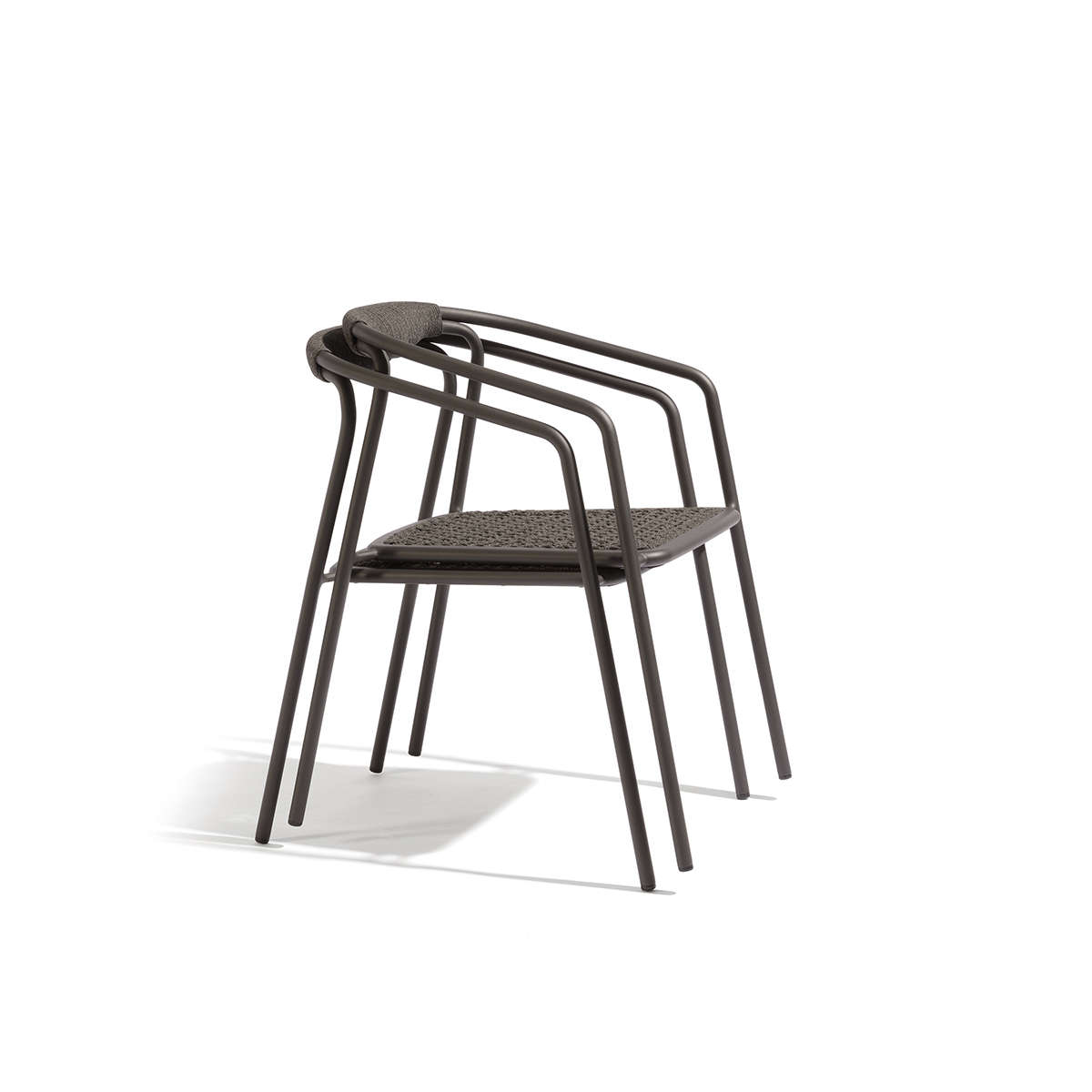 Manutti Duo Stacking Chair Cut Out Black 2