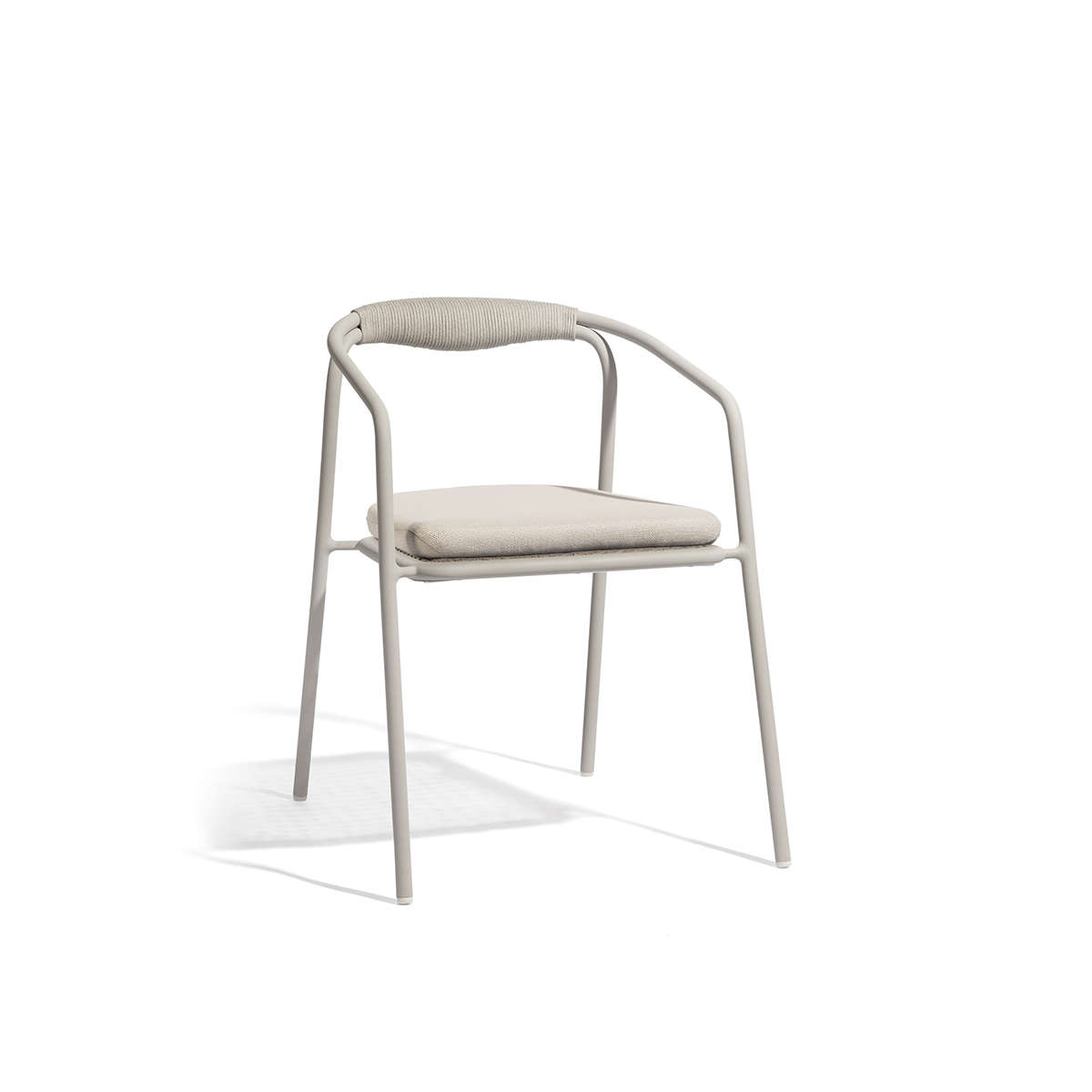 Manutti Duo Stacking Chair Cut Out White 1