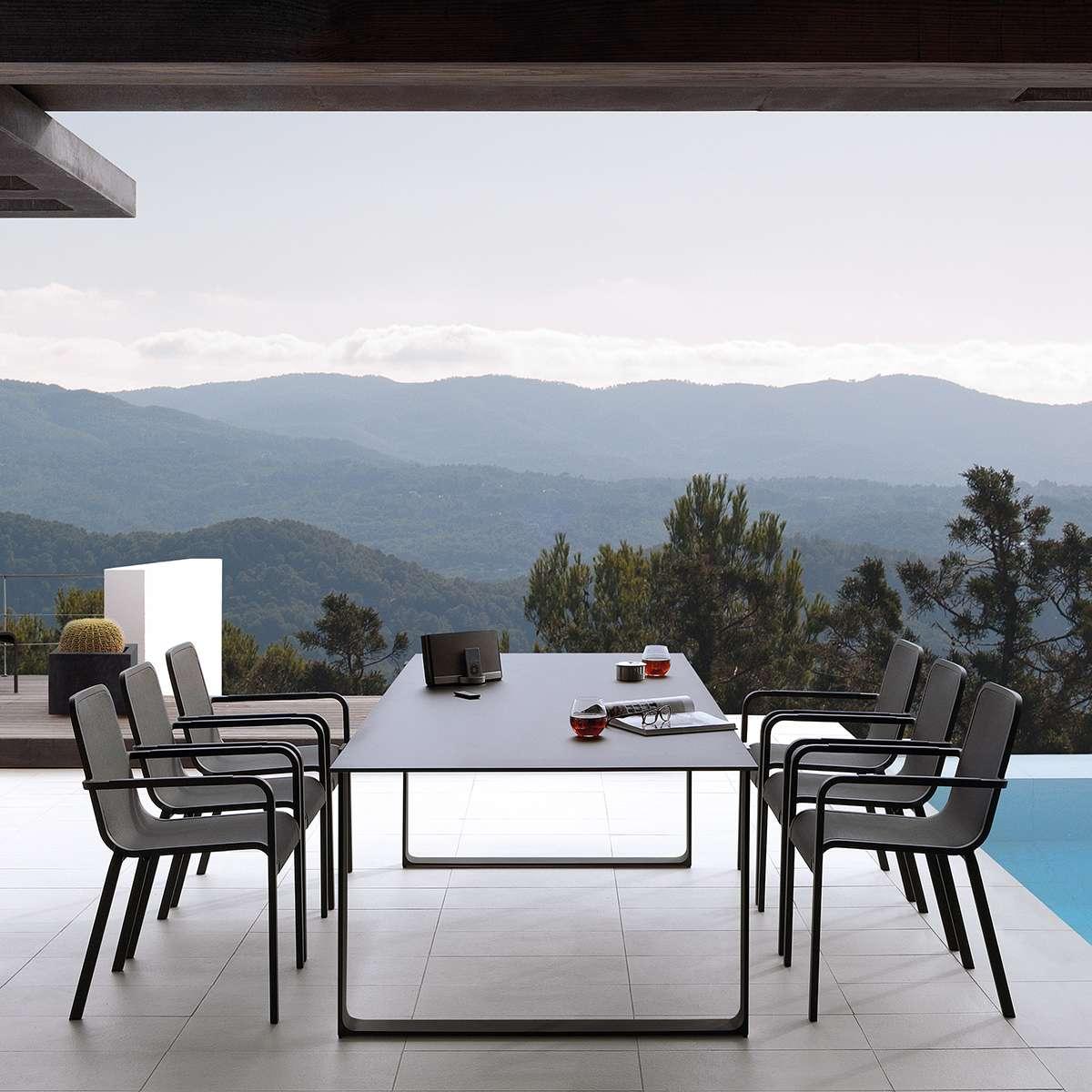 Manutti Helios Dining Chair Arms Hr 2