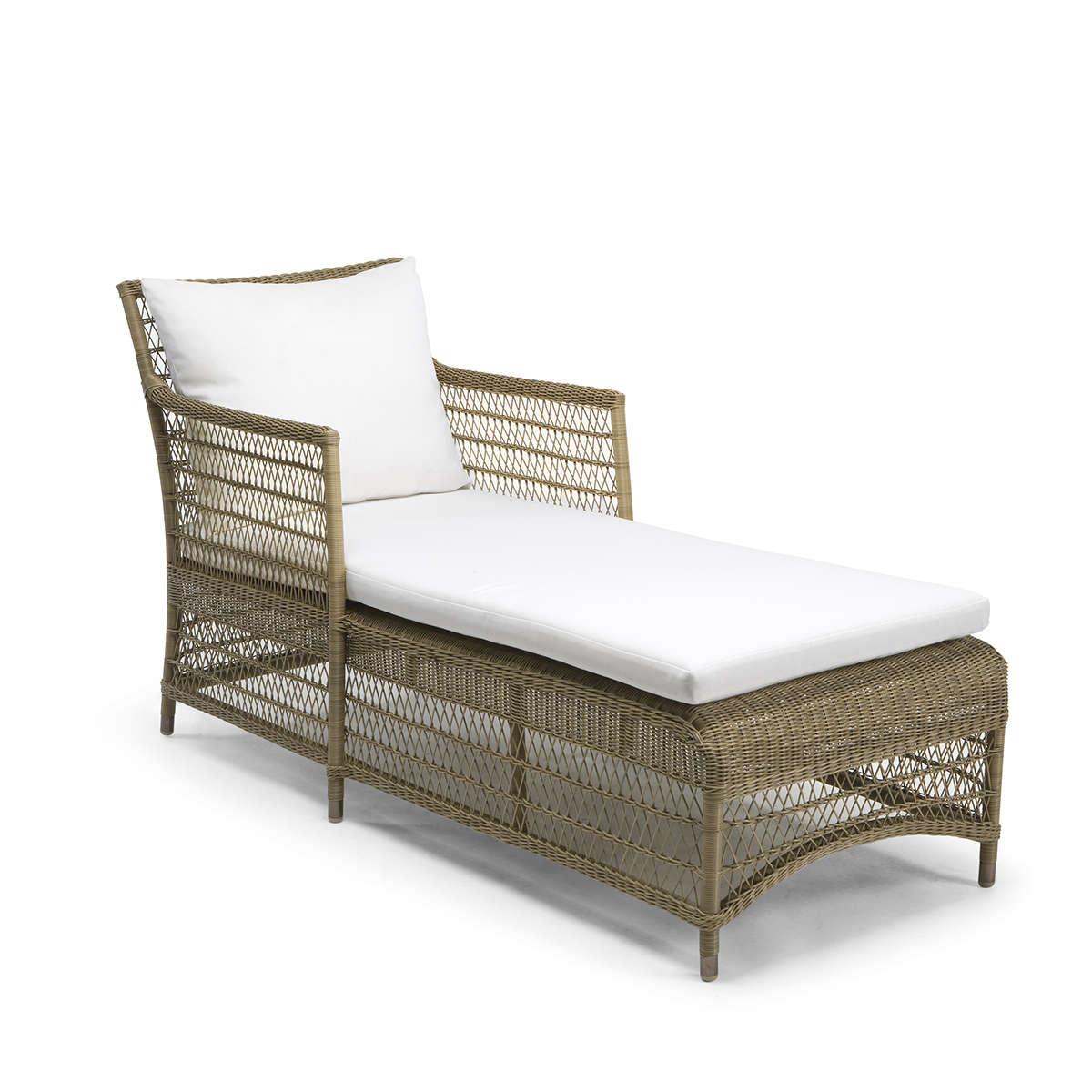 Malibu Cord Square Chair