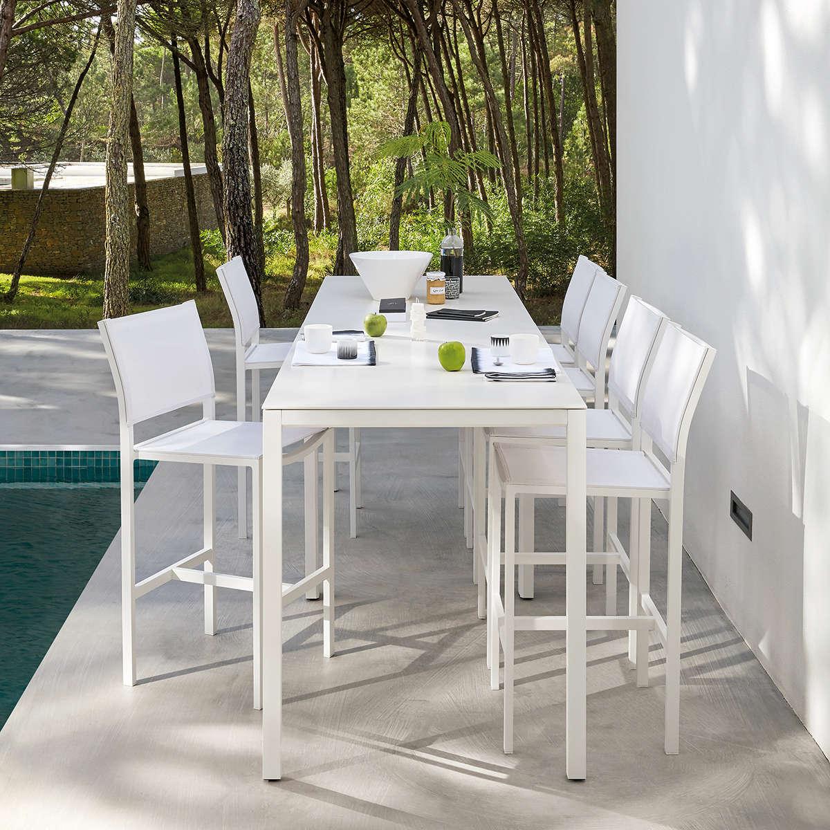 Manutti Quarto Bar Table Sized
