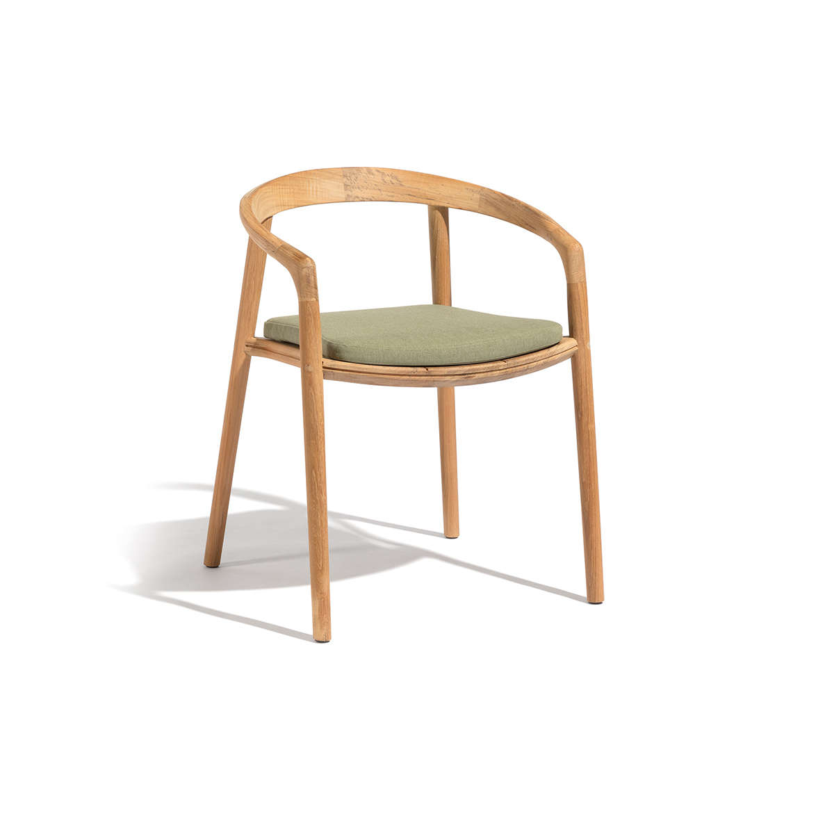 Manutti Solid Stacking Chair Cut Out Wood 2