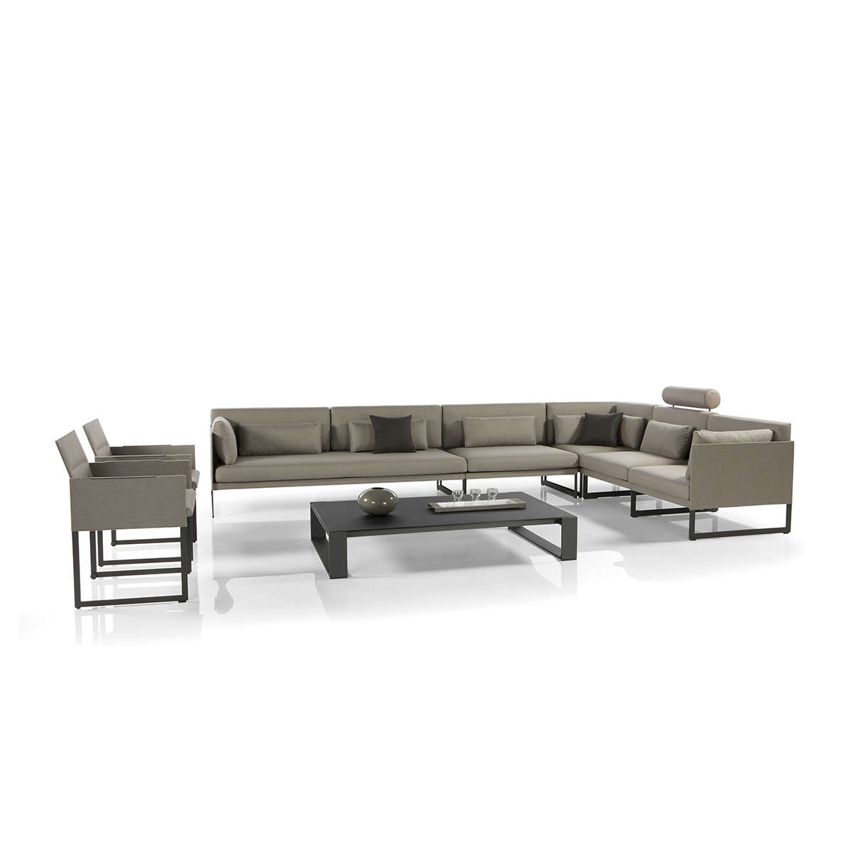 Squat Modular Sofa