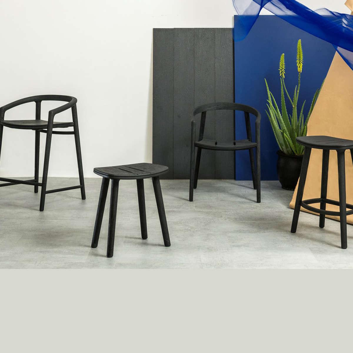 Modern Garden Co Solid Barstools