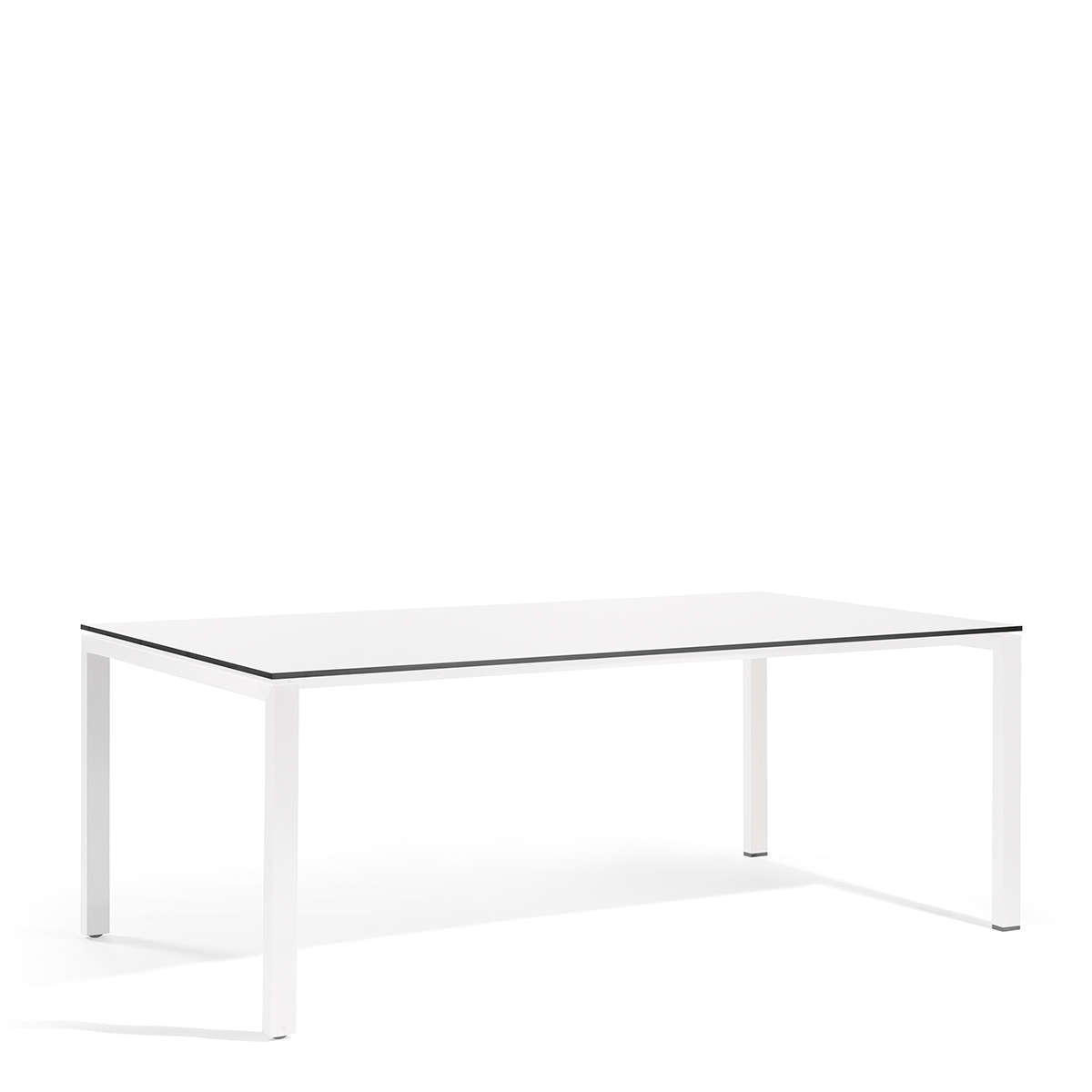 Modern Garden Co Trento Dining Table White
