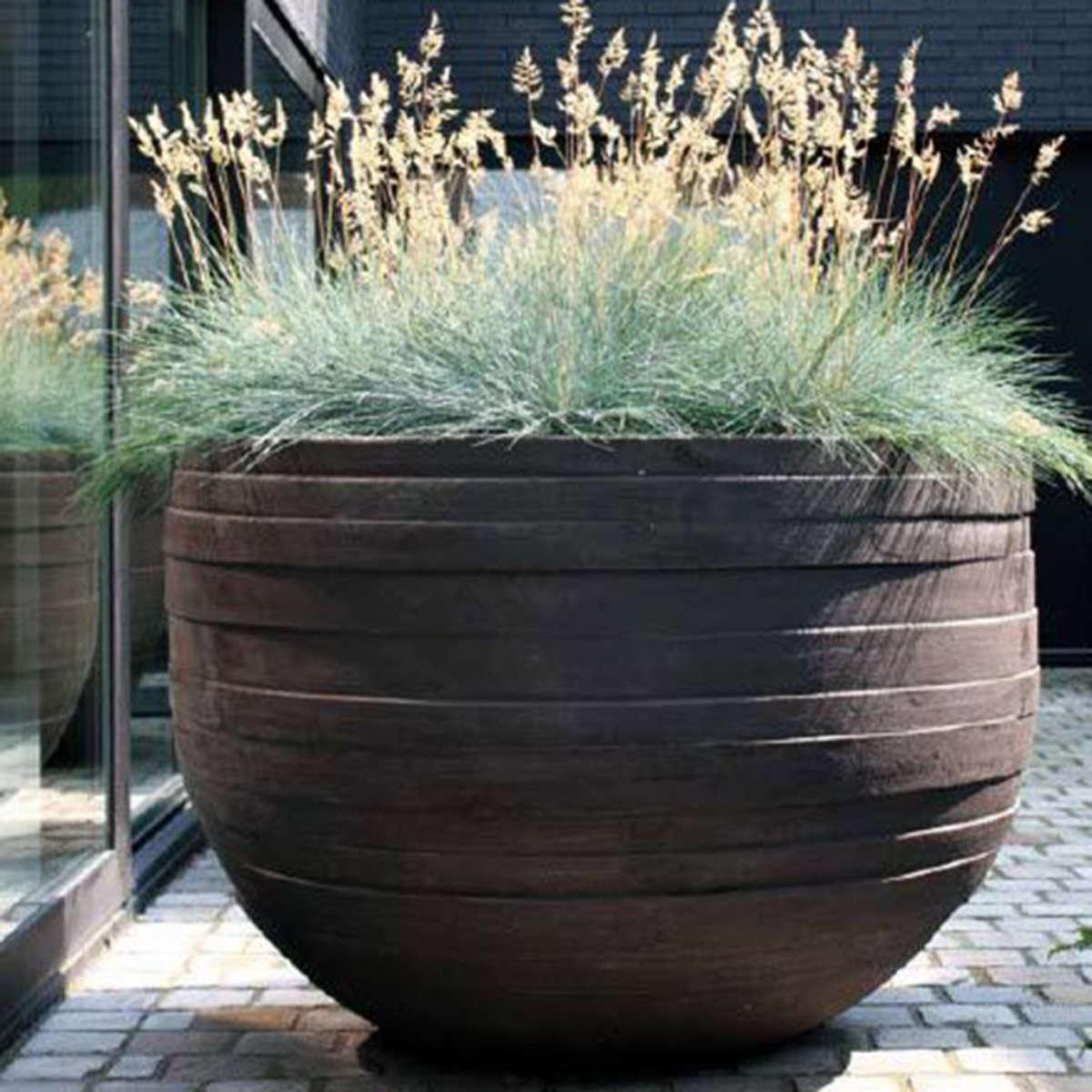 Modern Garden Co Uf Dark Grey Container