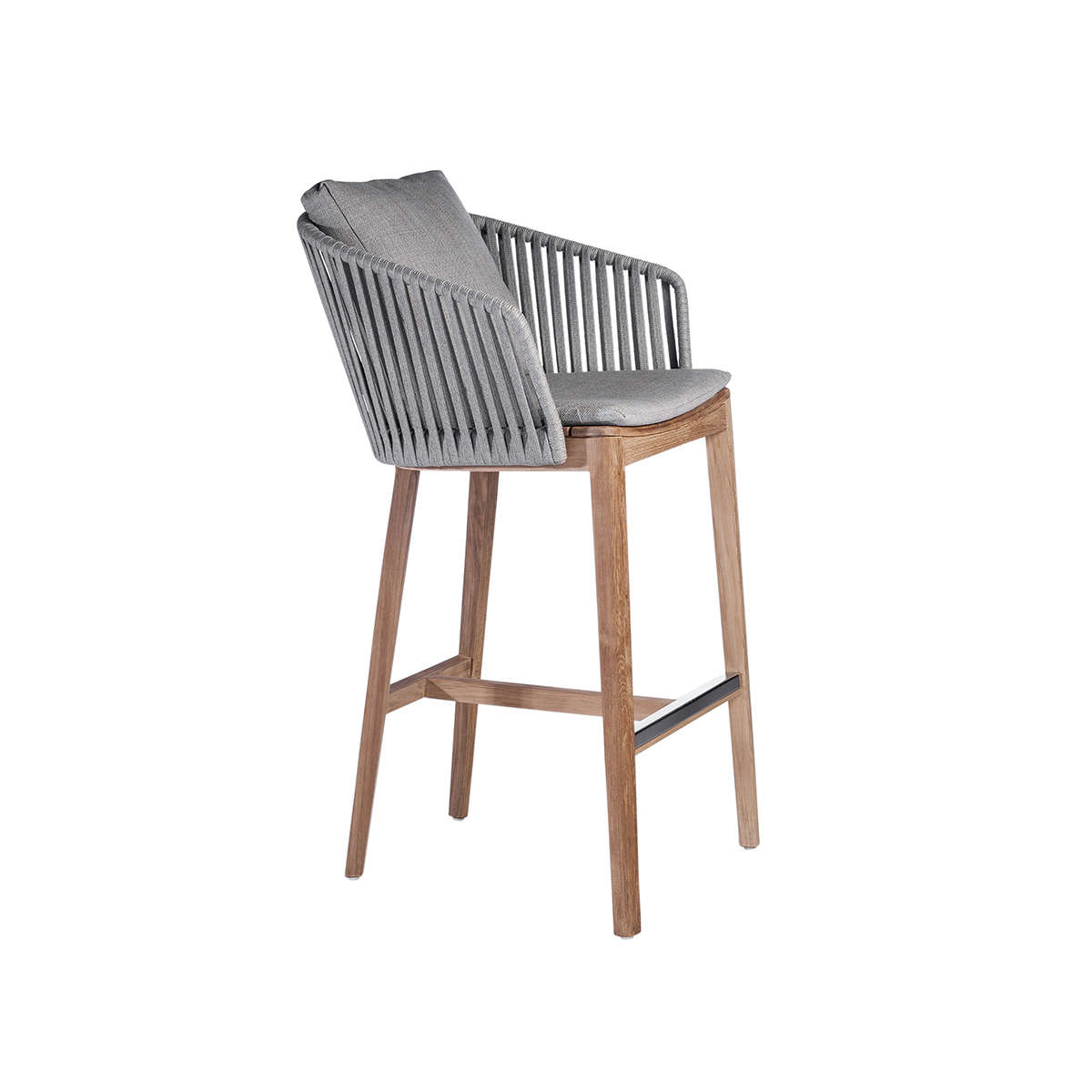 Mood Barchair Grey Cushion 3 D
