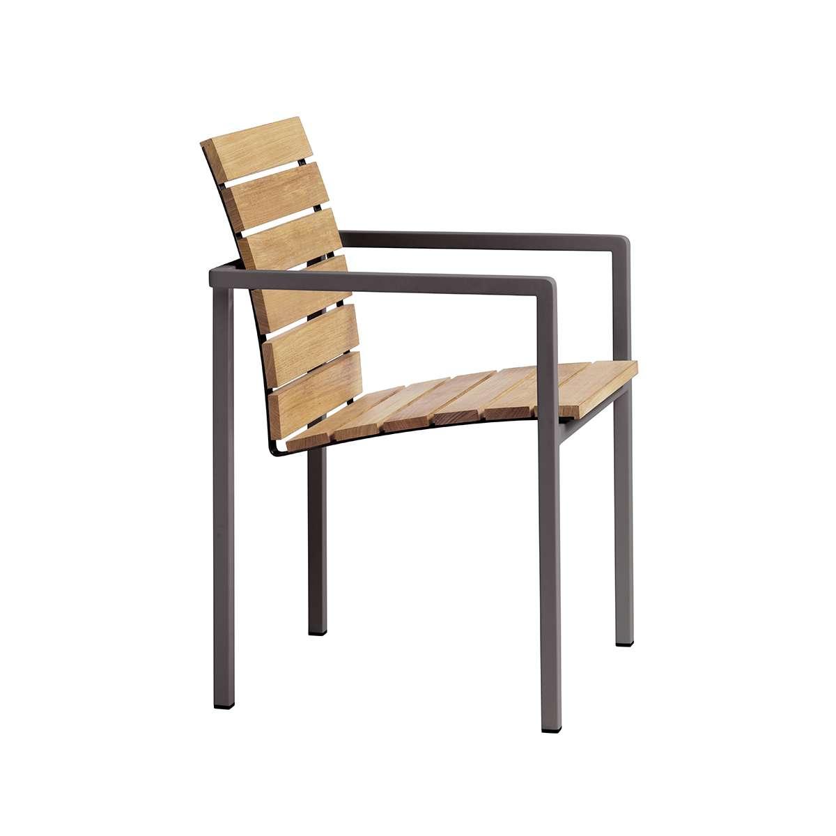 Natal Alu Teak Arm Chair