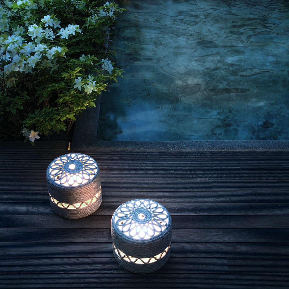 Paola Lenti Agadir Floor Lamps Ambient