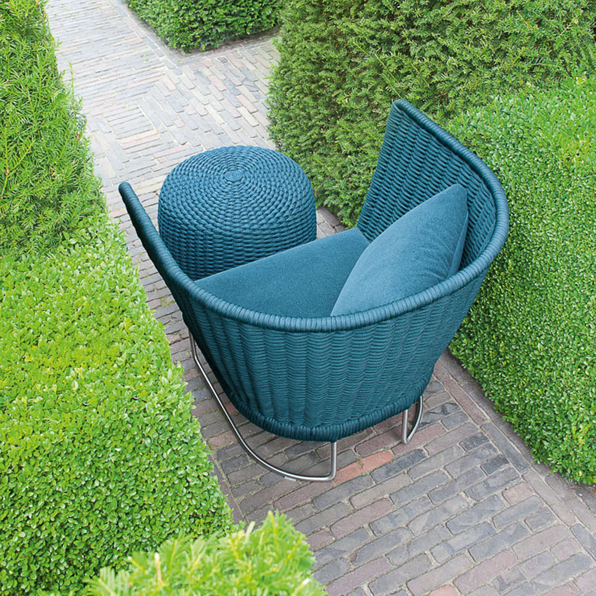 Paola Lenti Ami Low Chair 01