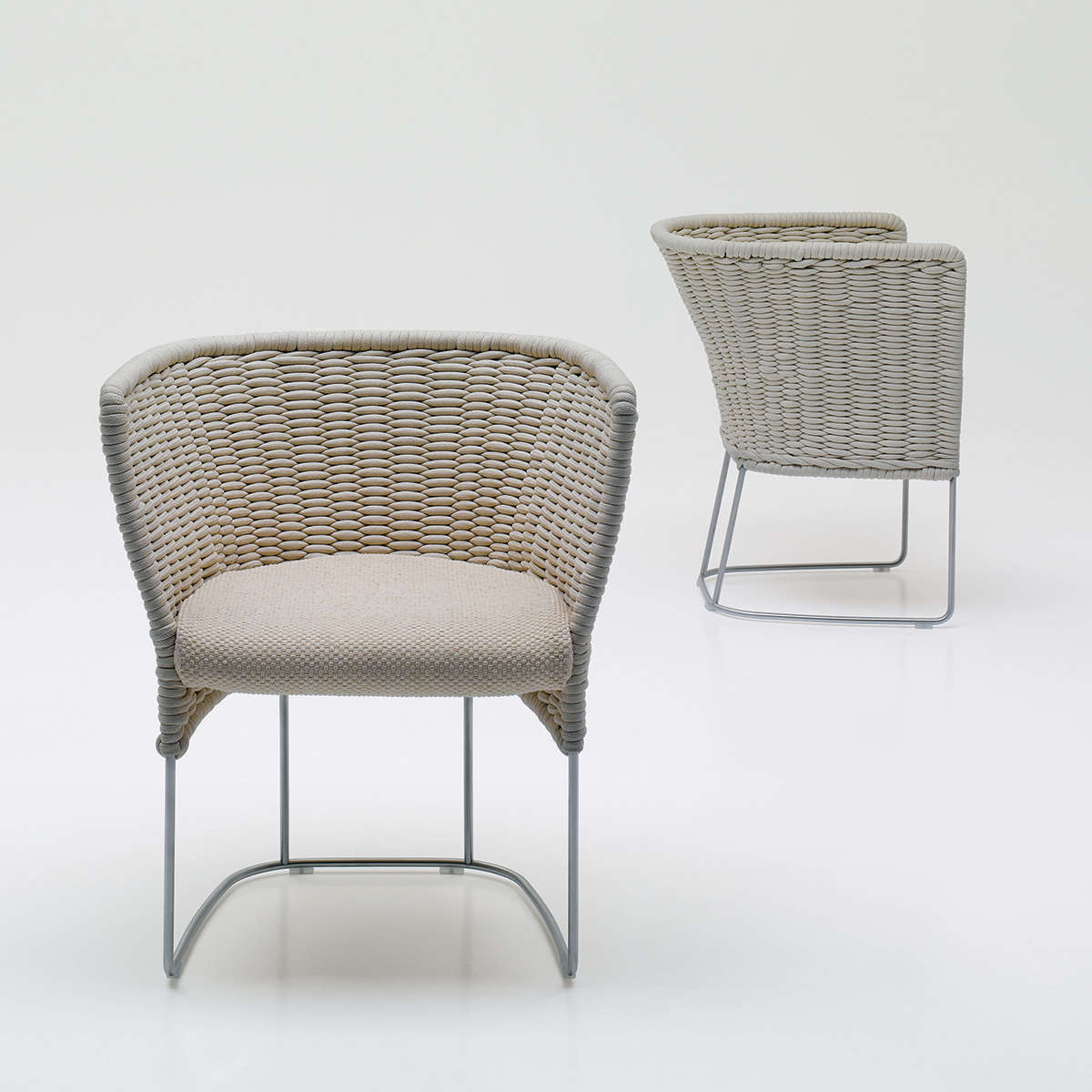 Paola Lenti Ami Dining Chair Hr 1