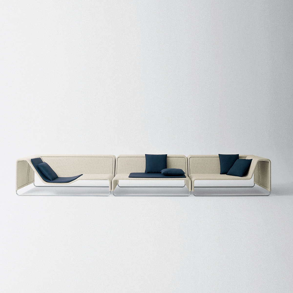 Paola Lenti Island Modular Sofa Hr 2