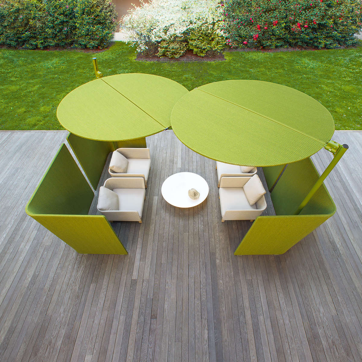 Paola Lenti Sciara Low Table Ambient