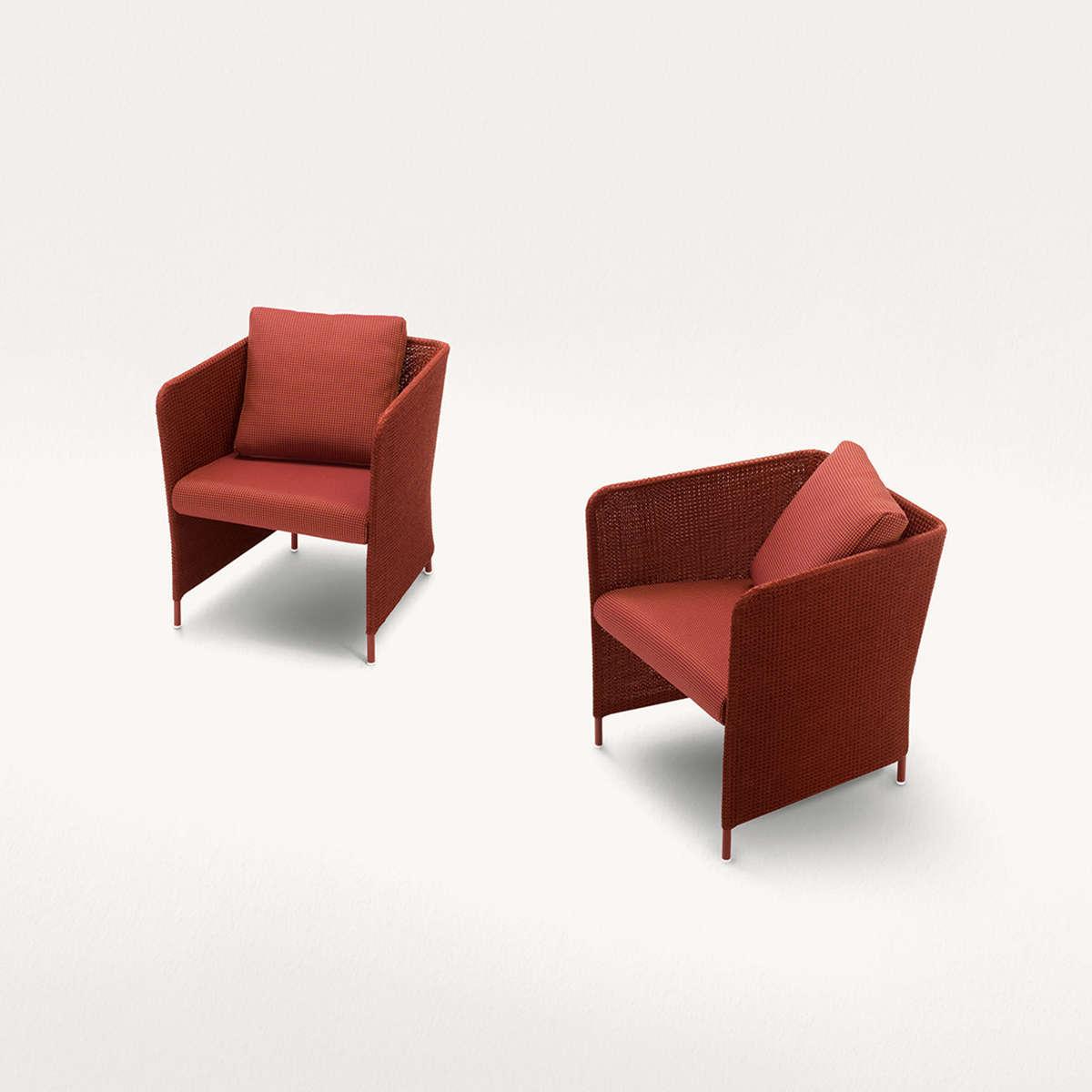 Paola Lenti Teatime Arm Chairs Hr 3