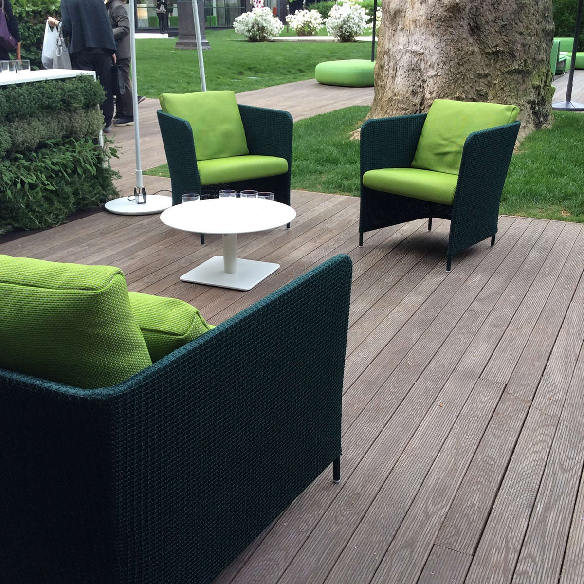 Paola Lenti Teatime Arm Chairs Hr 6