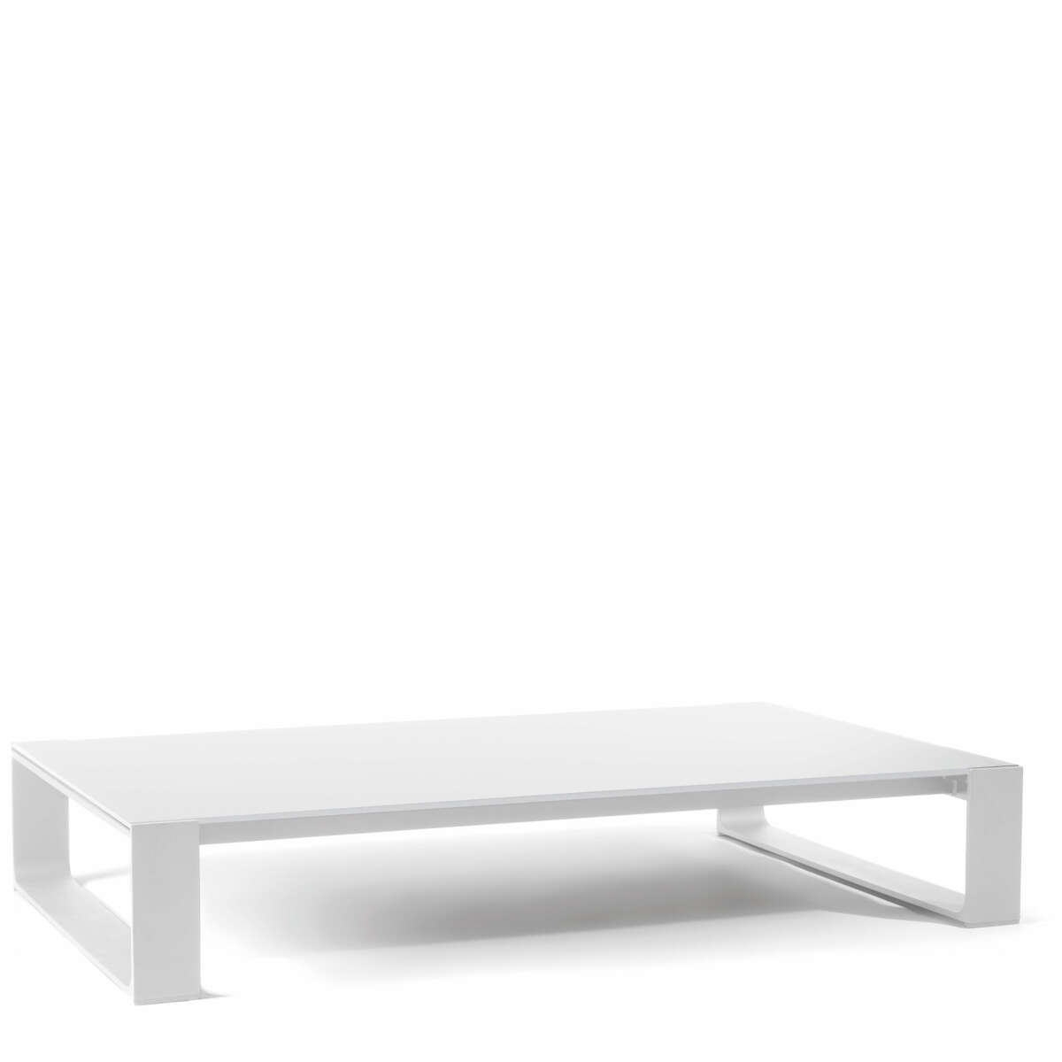 Prato low table white white