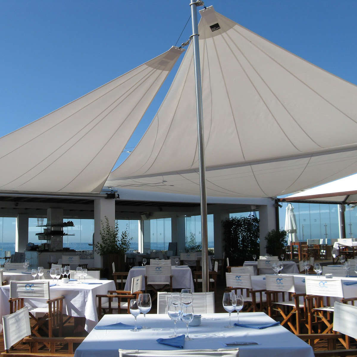 Modern Garden Co Trento Dining Table White