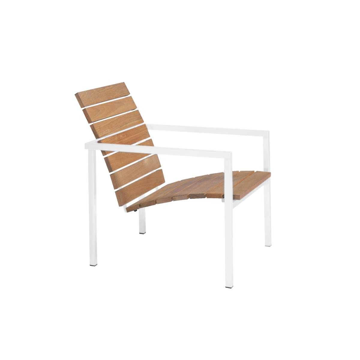 Tribu Natal Alu Teak Easy Chair Hr 1