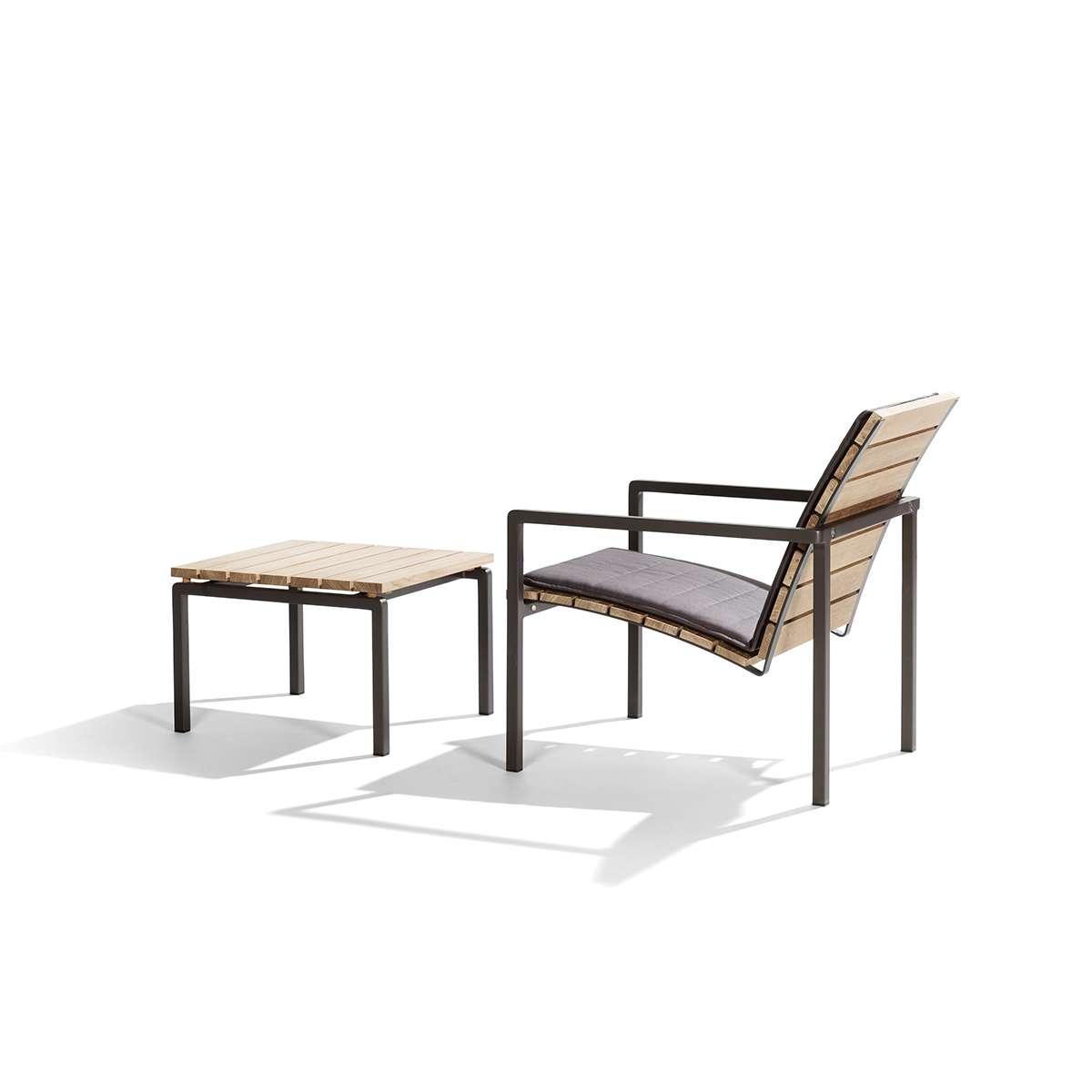 Tribu Natal Alu Teak Easy Chair Hr 2