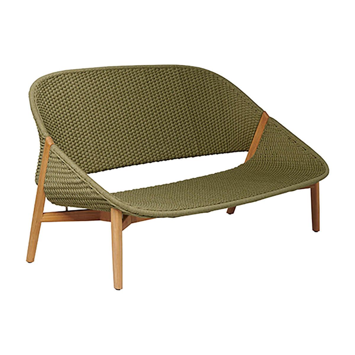 Tribu Elio 2 Seat Moss Modern Garden