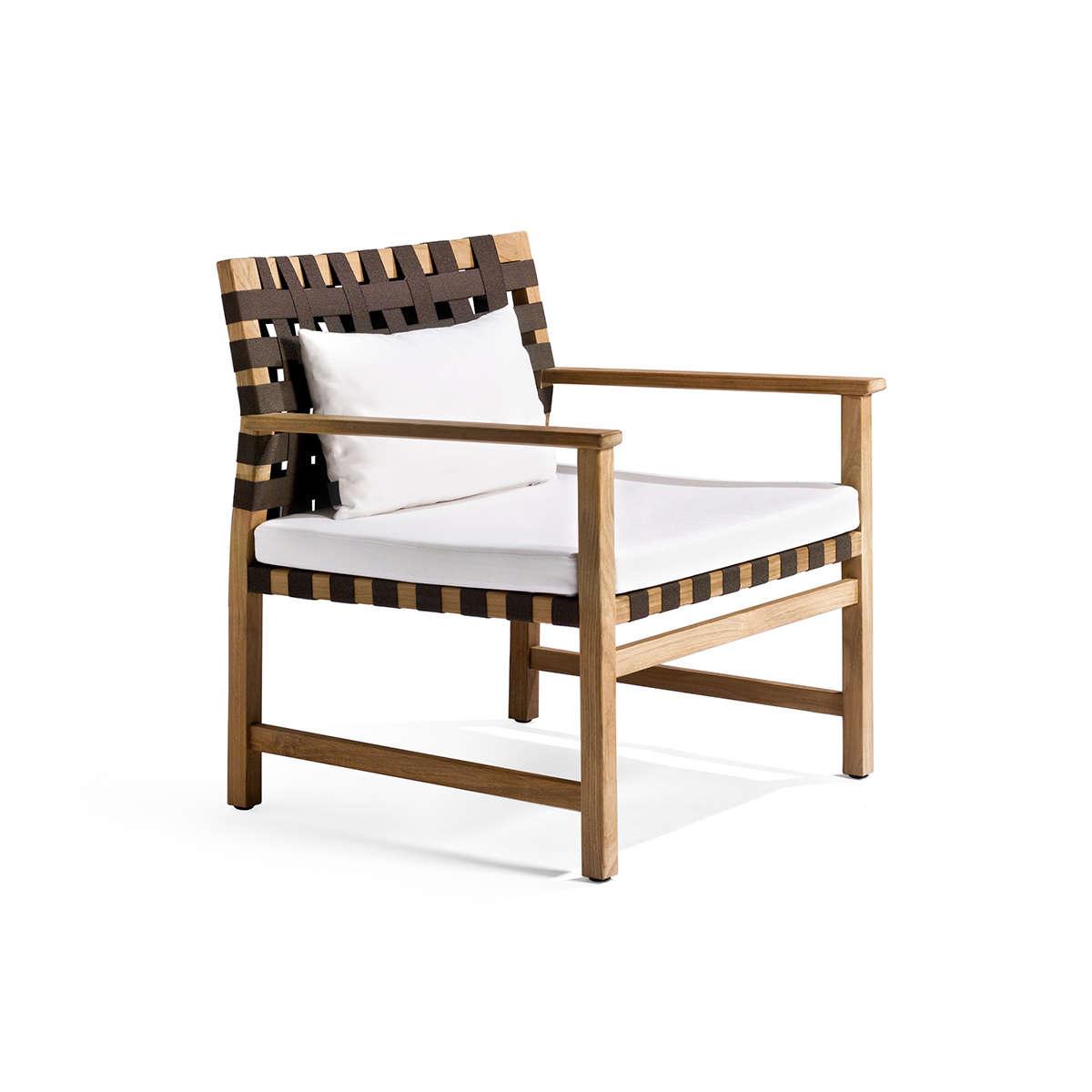 Vis A Vis Low Chair With Cushionlumbar Cushion
