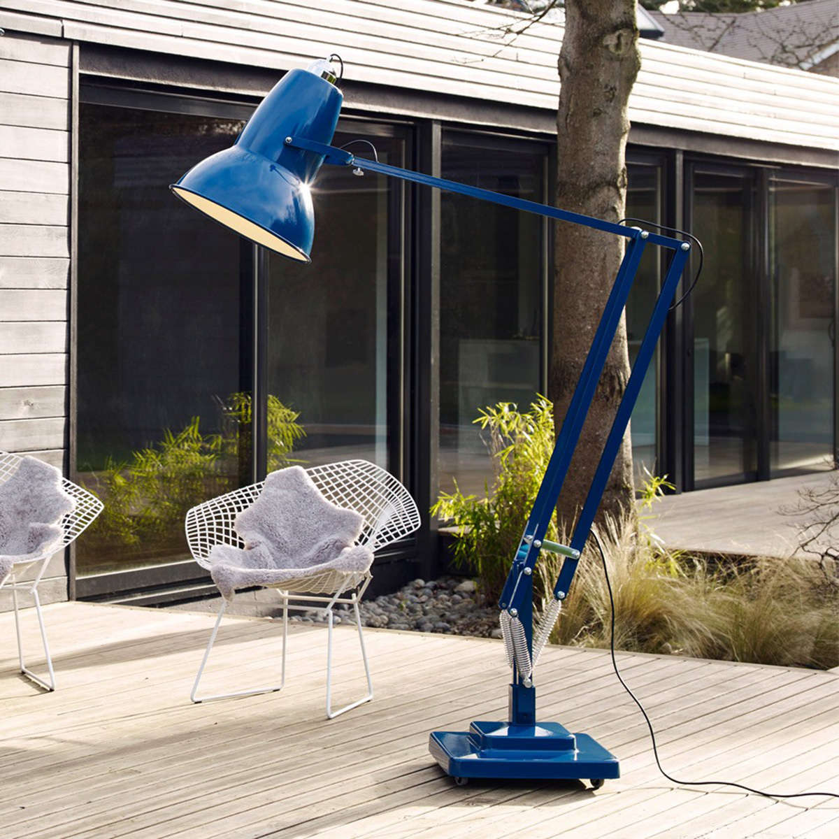 Anglepoise Floor Blue