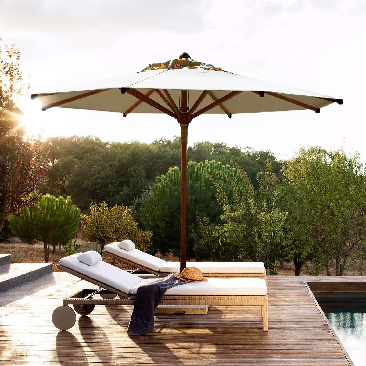 Eclipse Umbrella Wood Ambient