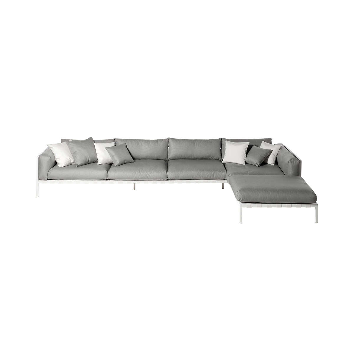 Natal Alu Sofa Corner Nautical Stone