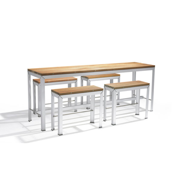 Extempore High Table + Bench