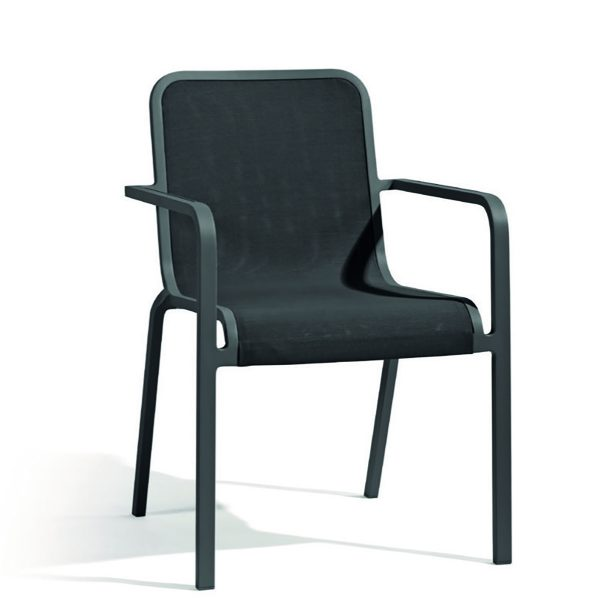 Helios Textiles Dining Chair with Arms