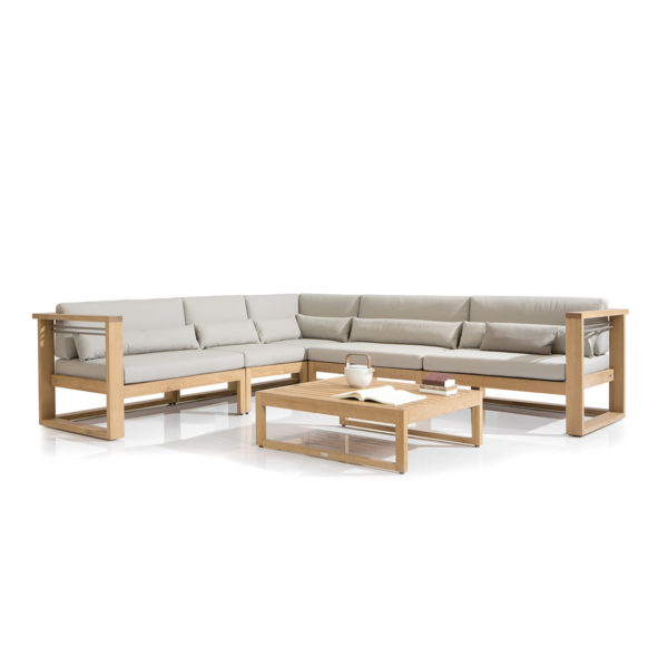 Siena Teak Modular Sofa