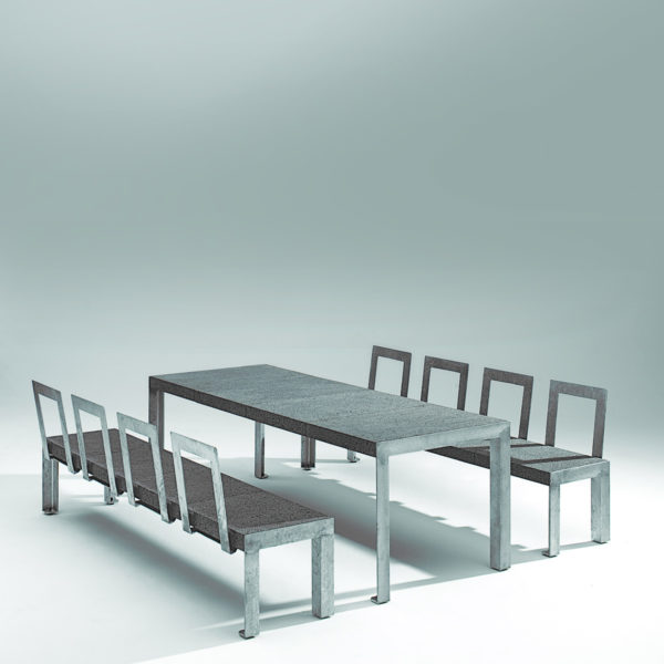 RW A12 Stone and Steel Dining