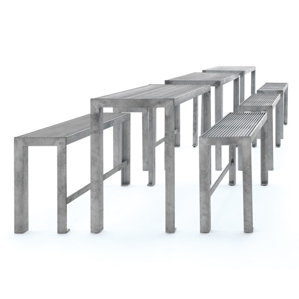 RW A16 All Galvanised Bistro