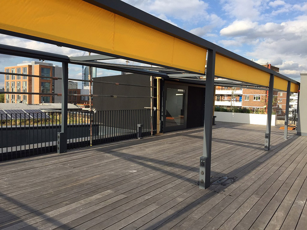 AHMM London Head Office Roof Terrace by Design: AHMM