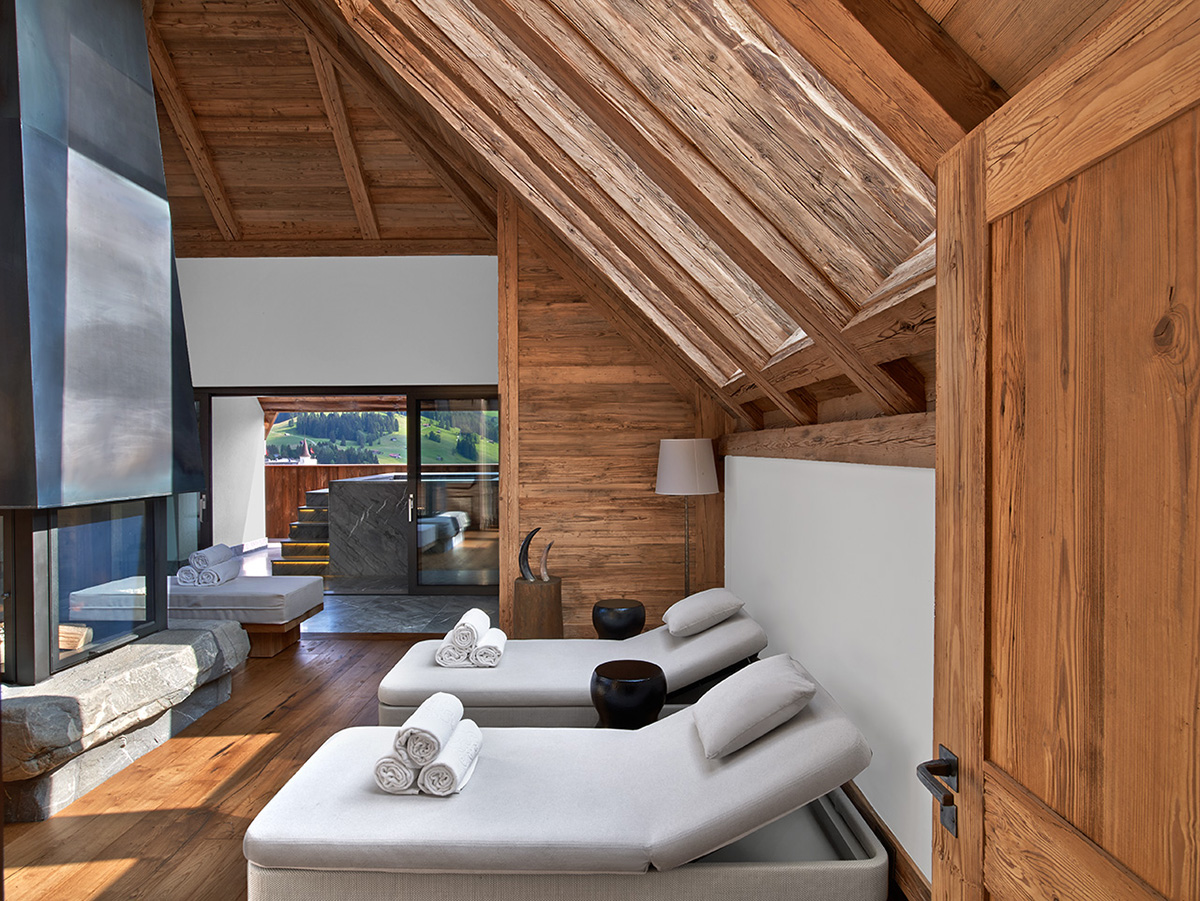 The Alpina, Gstaad by Design: Hirsch Bedner Associates