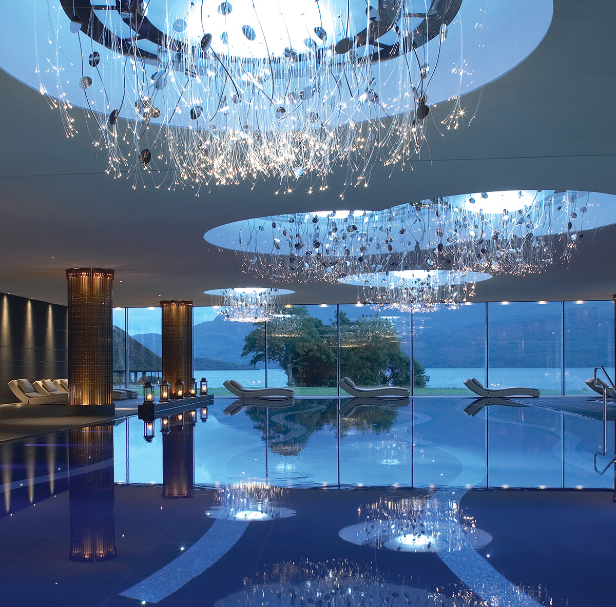 ESPA, Hotel Europe, Killarney by Design: Hirsch Bedner Associates