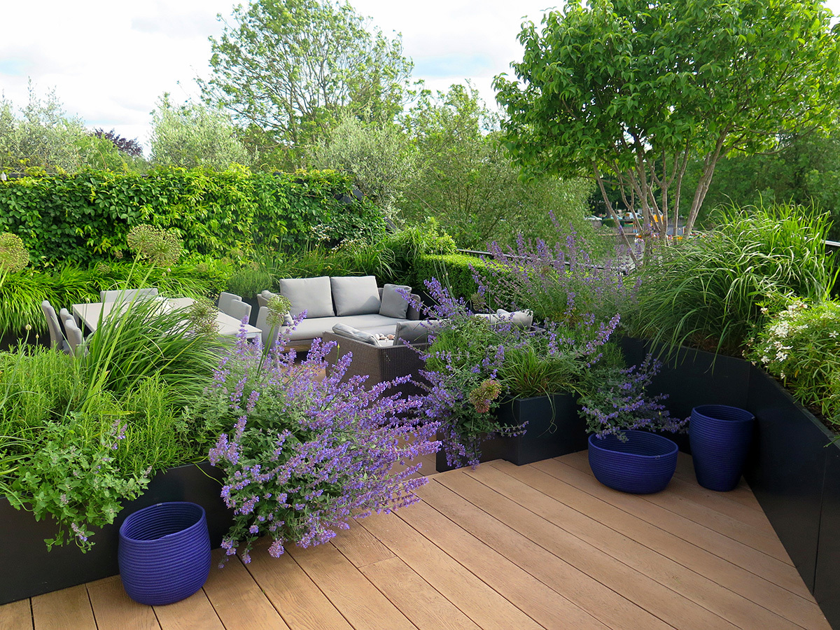 Eton, private garden by Design: Charlotte Rowe