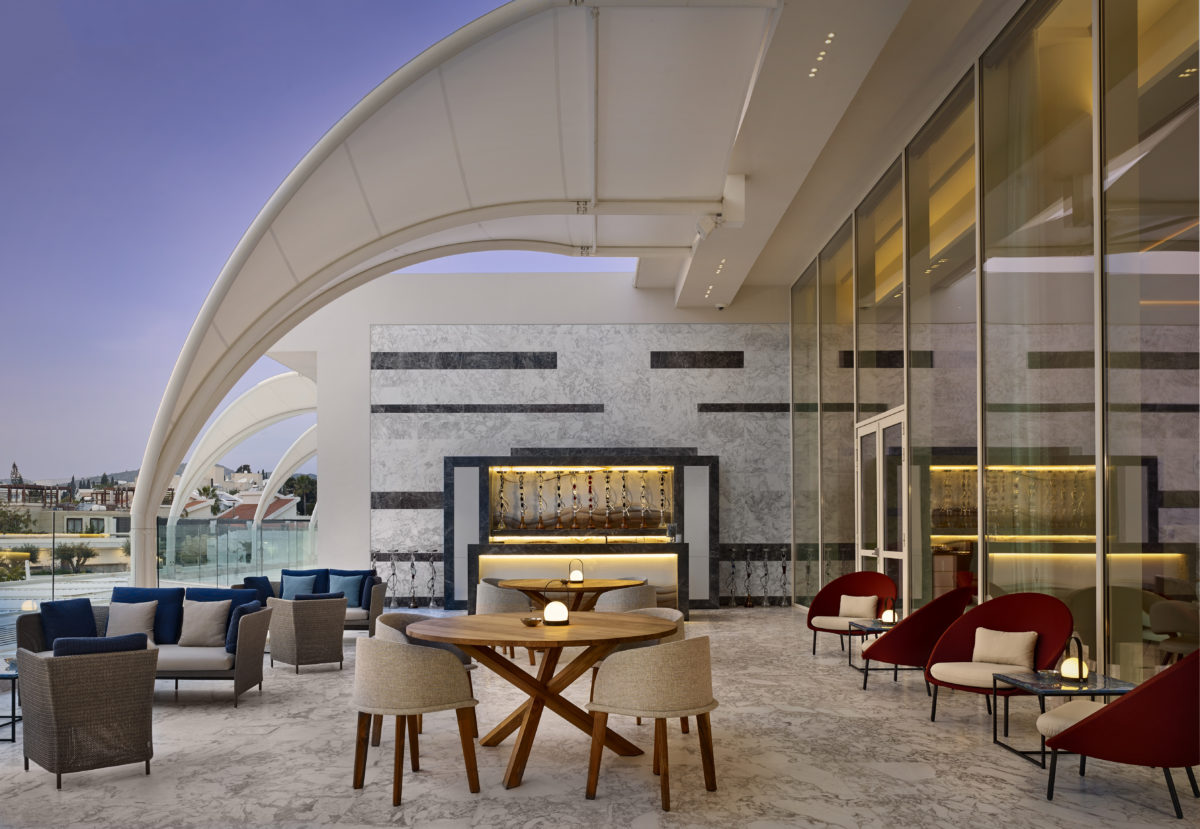 The ParkLane Resort & Spa, Limassol Cyprus  The Shisha Lounge