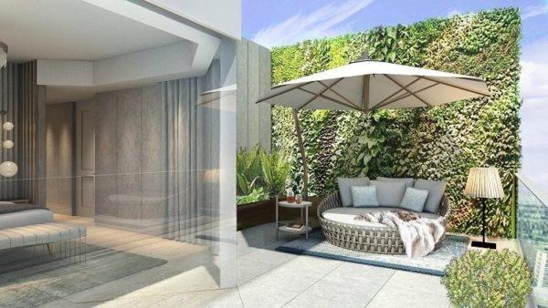 Mandarin Penthouse Terrace