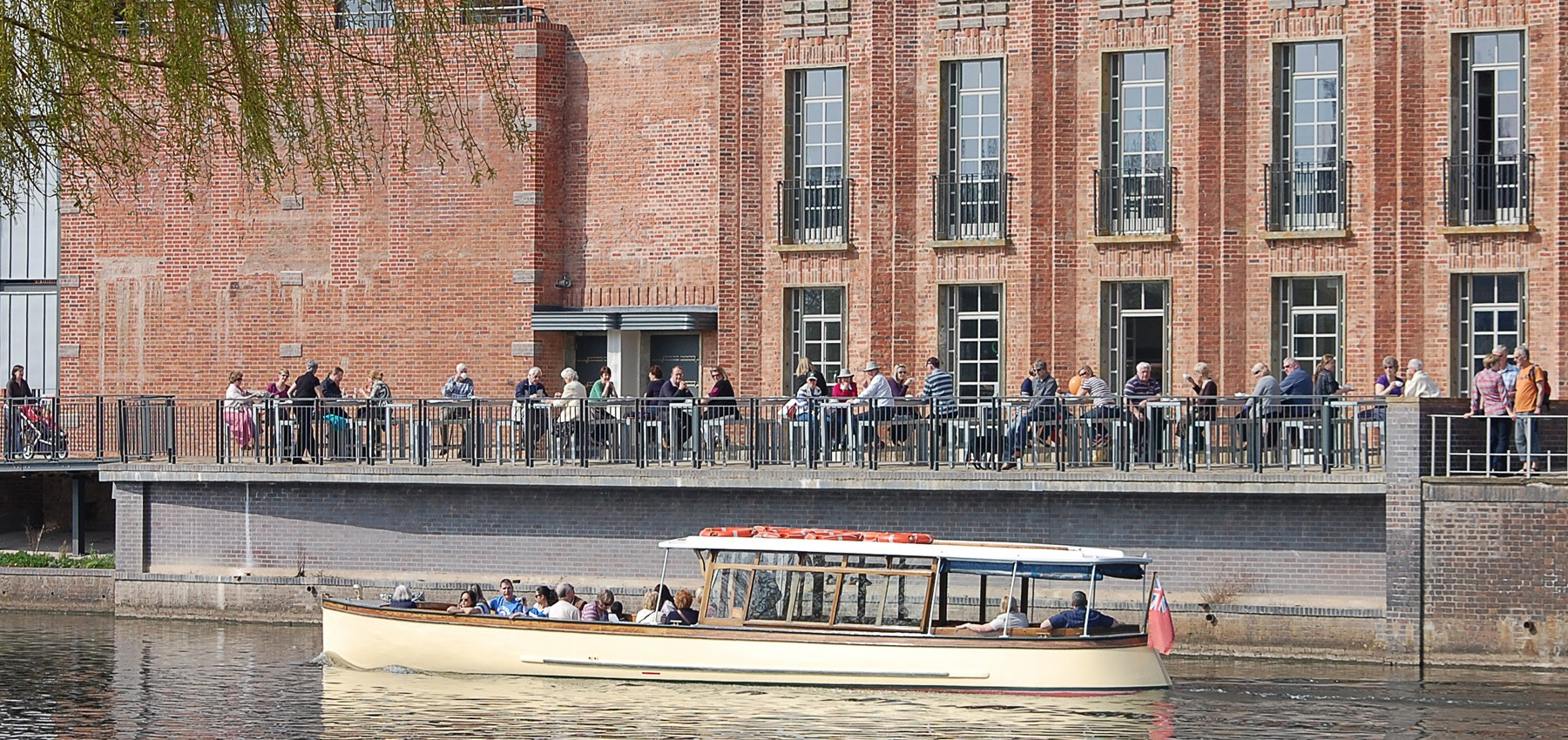 Waterside Cafe at The RSC Stratford