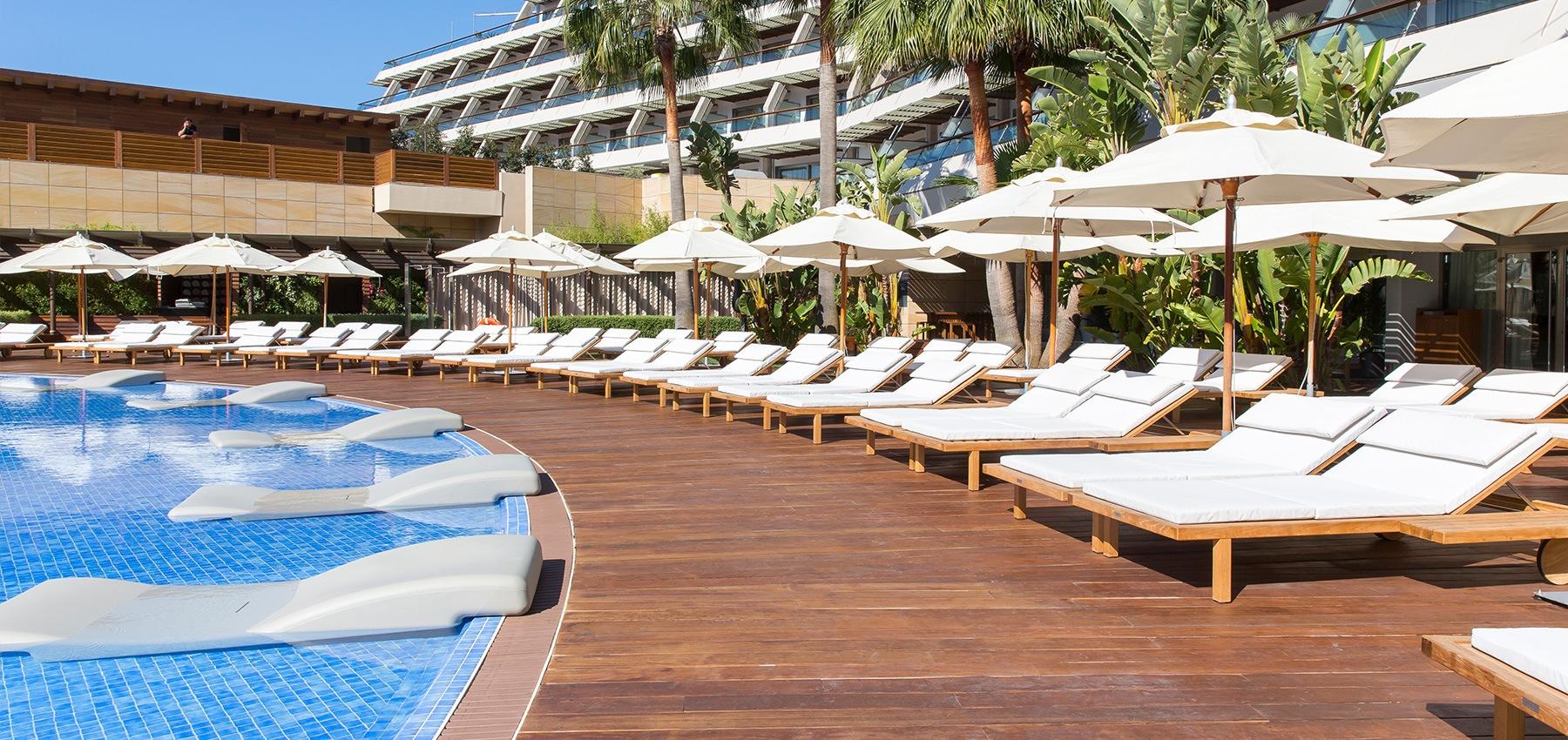 Poolside Ibiza Grand Hotel